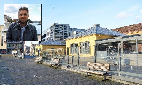ÅPNER: Selim Kocu åpner Havna restaurant ved Indre havn til påske. Arkiv.