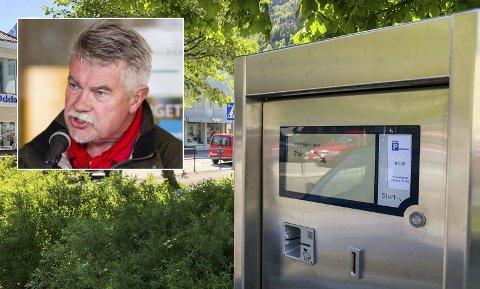 Forslag til kommunestyret: Terje Kollbotn (Raudt) vil neste veke legga fram forslag for kommunestyret der han tar til orde for å avvikla Odda Parkering snarast råd - og at innkrevjing av parkeringsavgifter frå parkeringsautomatar skal opphøyre seinast 1. mars 2021.