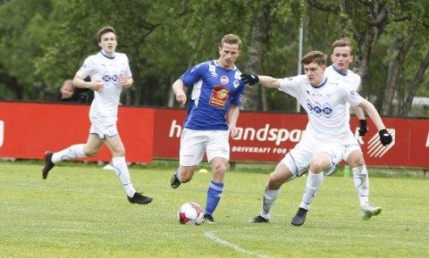 Eirik Høgseth ble matchvinner da MIL vant 2-1 på Sagbakken. FOTO: PER VIKAN