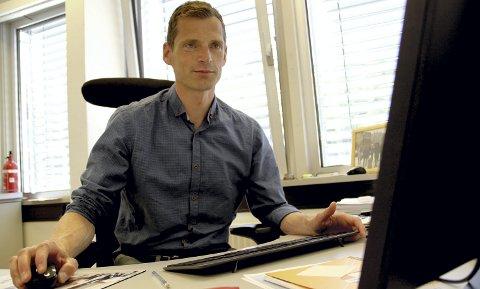 MER ANSVAR: Robert Rognli blir allerede fra nyttår ny kommunalsjef for oppvekst for både Holmestrand og Sande kommuner. FOTO: LARS IVAR HORDNES
