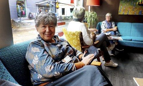 Håper på mange: Kommuneplanlegger Inger Christensen har fått godkjenning fra kommunestyret på å sette i gang en digital med-virkningsprosess til kommuneplanen. – Jeg er spent på responsen, sier hun. Foto: Pål Nordby