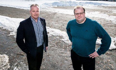 VIL BENYTTE RESSURSENE: Høyrepolitikerne Willy Kvilten og Hans Jørgen Borgen mener det er en god idé å benytte arbeidsledige eller permitterte til å styrke smittesporingsteamet i Ullensaker.