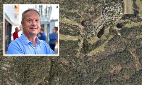 LEGATSKAUEN: Tim Kronborg ved Kragerø Resort Eiendom AS har sammen med styreleder Petter Pande-Rolfsen ved Jens Lauersøns legat søkt om fradeling og fått delvis tillatelse.