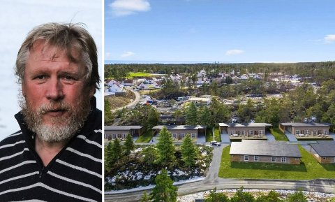 REAGERER: Livet på Levangsheia-leder Robert Hellermyr frykter boligprosjektet står i fare og mener kommunen må rydde opp i situasjonen.