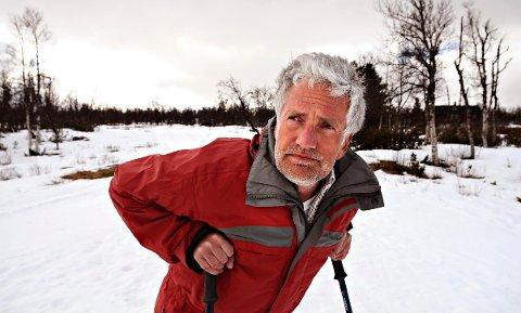 STENGT: Reino Skjøtskift på Torsetlia har aldri stengt i høysesong før.