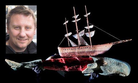 Geir-Ove Andersen, daglig leder ved Figurteatret, gleder seg stort over at publikum i Lofoten nå får se Moby Dick.