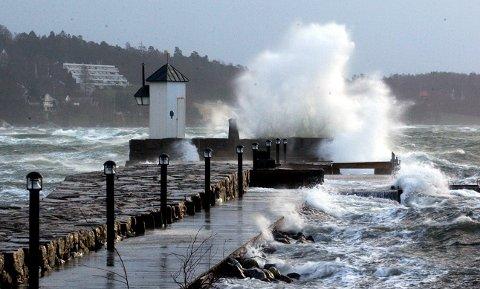Det blåser godt over distriktet vårt onsdag morgen.