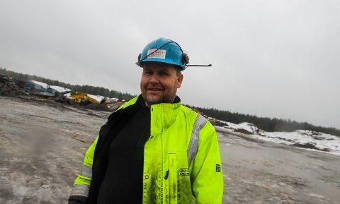 SATSER: Entreprenør Kjell Sørli tar sikte på å bli eneeier av Moss og Våler Næringspark. - Nå løsner det. Stadig flere virksomheter vil etablere seg her, sier Sørlie som bruker eget selskap for opparbeiding av tomtene.