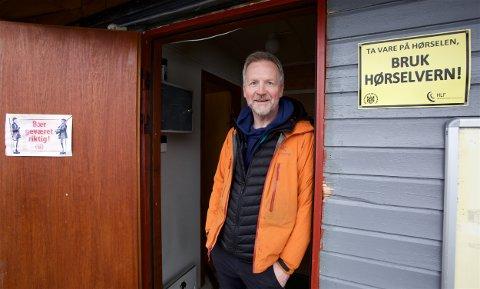 Leder for Tromsø skytterlag, Bjørn Viggo Ottem er positiv til planen om et stort skyteanlegg i Kjoselvdalen. Foto: Ola Solvang