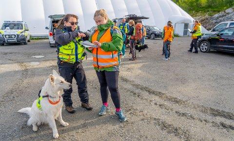 SØK: Tirsdag kveld ble søkene etter den 63 år gamle mannen intensivert rundt turområder på Tromsøya.
