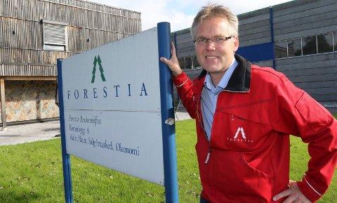 SPENNENDE: – Det går veldig bra for tiden, og det er ingenting som tilsier at det ikke skal fortsette slik, sier ny administrerende direktør ved Forestia, Terje Sagbakken.