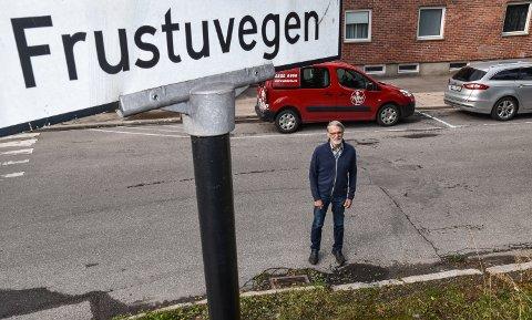 FAVORITTEN: Ottar Evensen liker historien om hvordan Frustuvegen fikk navnet sitt.