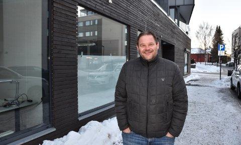 FLYTTET INN: Erik Skramstad Uthus og MjøsAnker er på plass med kurslokaler i Glitrekvartalet.