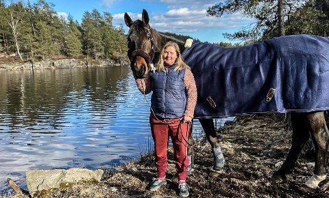 UTSATT: Heidi Hasseleid har utsatt NM i sprangridning.