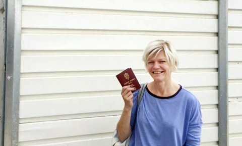 Praktisk: Johansen er lett å stave i de fleste land. Det er et praktisk etternavn, mener Kirsti Johansen.