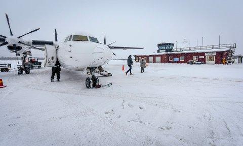 Flyplassen i Hemavan har fått et skikkelig løft. Og i framtiden kan vi forvente en helt ny flyplass.