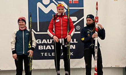 Andrine Bjørkmo ble nummer to i dagens renn i norgescupen.