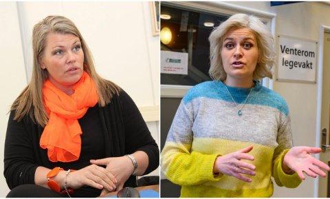 ALVORLIG: Kommuneoverlegene Kirsten Toft i Alstahaug og Hege Harboe-Sjåvik i Vefsn følger med på smitteutbruddet i Rana, og er forberedt på at det også kan spre seg til andre steder på Helgeland.