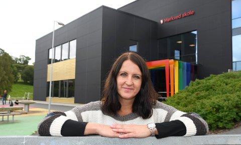 Trives: Anne Engh har fått jobb som lærer på Mørkved skole.