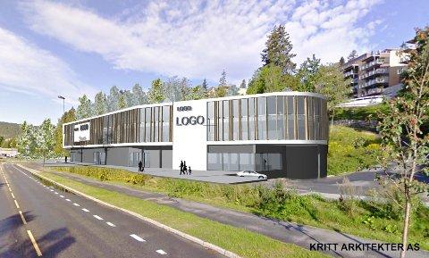 BENTLEY: Nils Kjetil Tronrud blir Bentley-forhandler på Billingstad i Asker i et nybygg, som skal stå ferdig ved neste årsskifte. Inntil videre skal Bentley-bilene selges fra Motorpools lokaler på Billingstad. Illustrasjon: Kritt arkitekter