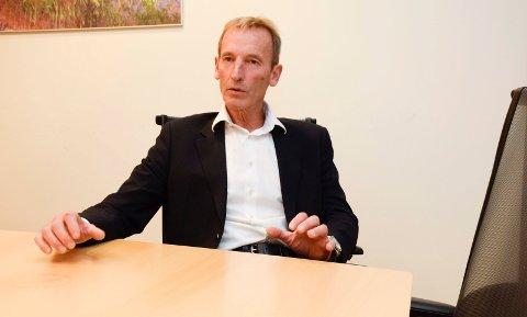 Administrerende direktør i ringeriksfirmaet Borger AS, Herman Henrik Bay, bekrefter at de er interessert i det gamle omsorgssenteret på Lunner.