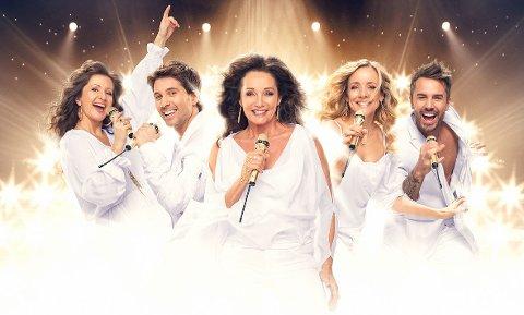 Thank you for the music: Vi elsker ABBA med Inger Lise Rypdal, Rita Eriksen, Jannike Kruse, Espen Grjotheim og Tommy Fredvang.