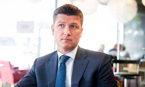 BOSTYRER: Advokat Vegard Øien får stadig flere konkurser å rydde opp i.