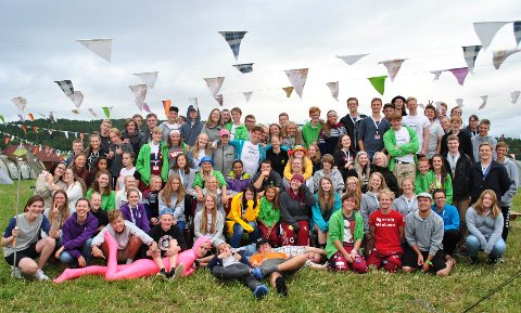 I ØSTFOLD: 1.100 deltakere har tilbrakt én uke på 4H-leir i Østfold.