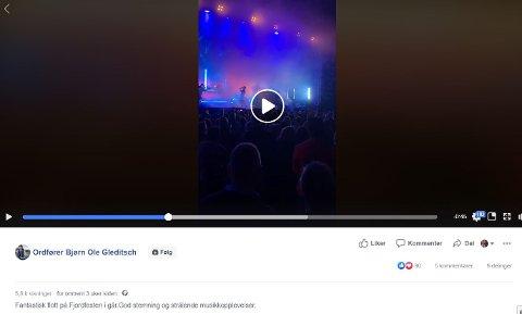 NEI: Dette ble for mye for Sandefjord kommune. Nå blir det forbud mot å dele ordførerens Facebook-innlegg i forkant av valg. SKJERMDUMP: Facebook