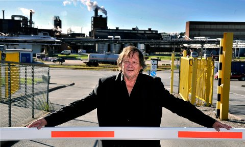 BIDRATT:  Hovedtillitsvalgt Åsmund Dybedahl mener de ansatte  i høyeste grad har bidratt til det gode Borregaard-resultatene.