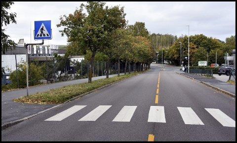 NY ASFALT: Det skal legges ny asfalt på deler av Bryggeriveien på Kurland.