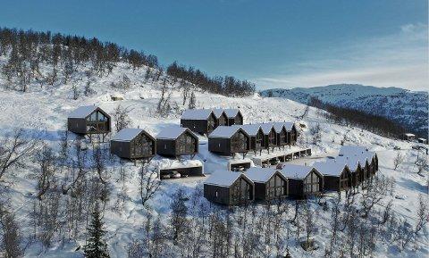 HYTTENE: Dette er slik dei tjue hyttene er tenkt utforma og plassert etter planendringa.