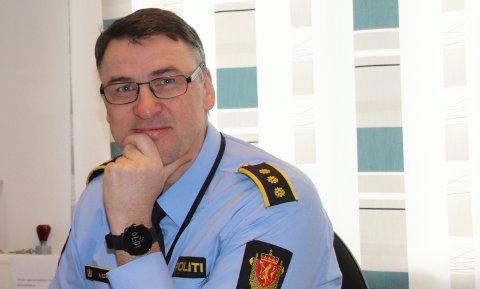 BEDRE: Lensmann Arild Kleven oppfatter politiberedskapen i Strand som bedre etter at Ryfast ble åpnet.