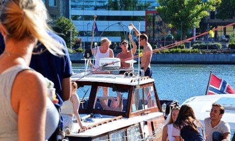 Dersom langtidsprognosene stemmer blir det fortsatt gode muligheter for å nyte sommeren på Brygga i ukene fremover.