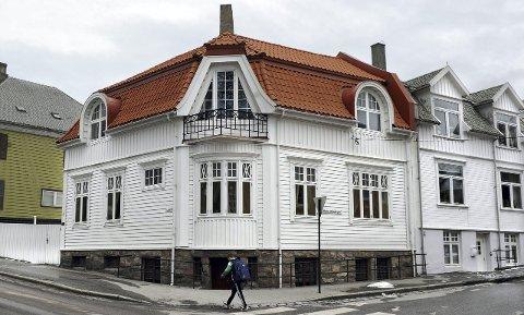 Kulturminne: Langveien 48 er den eneste boligen den anerkjente arkitekten Kristen Tobias Rivertz tegnet i Kristiansund.