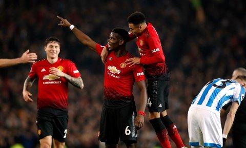 Midtbanestjernen Paul Pogba viser seg fra sin beste side under Ole Gunnar Solskjær. Søndag var han igjen sentral da Manchester United slo Bournemouth 4-1.