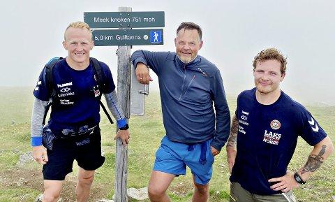 Til topps: Otto Havneraas og Crone sponser både Stig André Berge og Felix Baldauf. Inkasso-sjefen var med da brytegutta gikk til topps på Meekknoken.