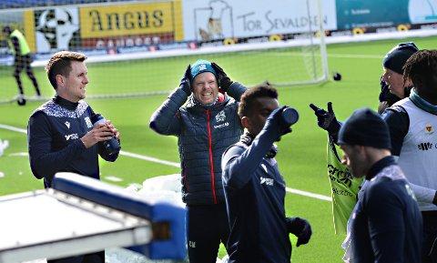 Andreas Hopmark, Christian Michelsen gleder seg over at de endelig får lov å spille kamper igjen.