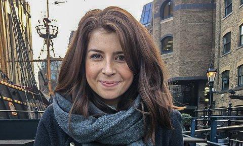 I SIKKERHET: Både Tønsberg-kvinnen Julie Moon Fjell og hennes venner og bekjente i London er i sikkerhet.