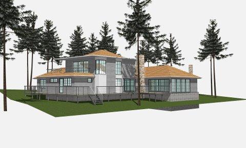 NY ETASJE: Slik kan boligen til Hannah Eshete Wilhelmsen bli seende ut, hvis alt går etter planen.