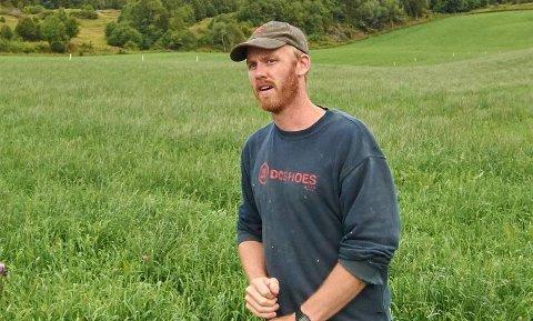 FRYKTER STORE KONSEKVENSER: Leder Torstein Næss i Inderøy bondelag sier næringa frykter at et vern av Borgenfjorden vil sette store begrensninger for landbrukets drift.