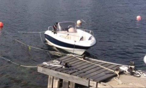 Båten forsvant i natt.