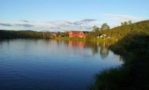 Sommerferie: På Merket i Tisleidalen ferierer flere barnefamilier denne uka.
