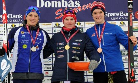 IMPONERTE: Sigurd Øygard har hatt mye å juble for på Dombås i helga. Han både vant lørdagens norgescupsrint og ble juniornorgesmester.