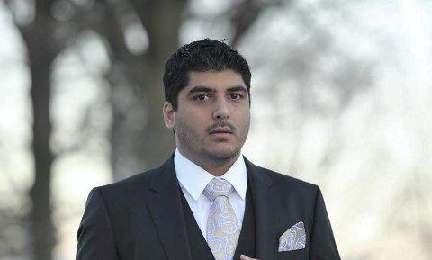 Konsekvenser: Amar Bains fra Holmestrand jobber ved et meglerhus i London, og kan fortelle at «Brexit» – den britiske utmeldingen fra EU – har begynt å gi konsekvenser for økonomien. Foto: Privat