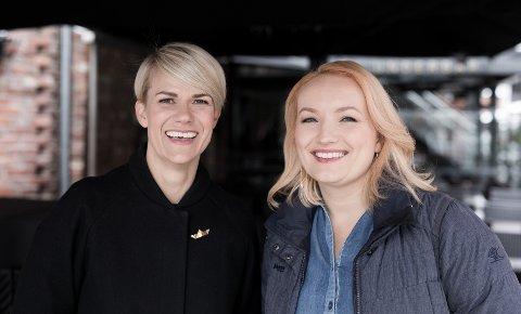 Sterk duo: Sigrid Bonde Tusvik og Ida Eliassen Cocker fra Nesodden står sammen bak kvinnemagasinet Altså. Foto: Marte Garmann