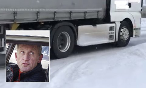 MÅ STOPPES: Disse bilene må stoppes, mener Jan Inge Gjermundshaug (innfelt).