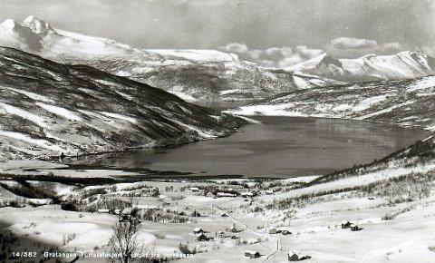 GRATANGEN: Fotoet er tatt omkring 1940. Her fikk Trønderbataljonen sin brutale ilddåp.