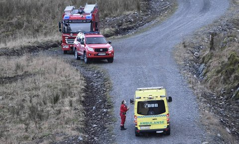 Naudetatane kunne køyre heilt fram til området der ulykka skjedde.