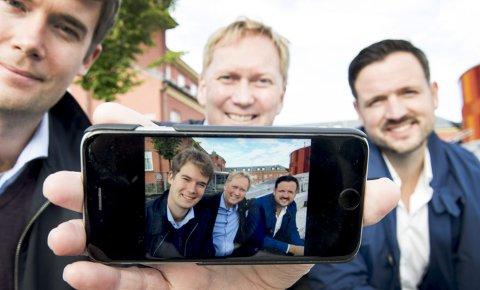 Nødvendig: Byrådsleder Harald Schjelderup (Ap) mener gratis internettilgang er et viktig bidrag for å utjevne sosiale forskjeller i Bergen. Det er sosialbyråd Erlend Horn (V) og finansbyråd Dag Inge Ulstein (KrF) enige i. FOTO: ARNE RISTESUND